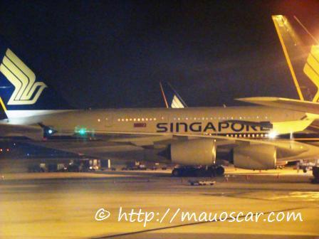 Aeroporto de Cingapura A380