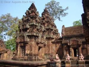 Banteay Srei Templo no Camboja
