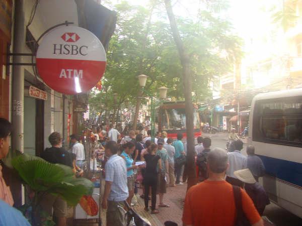 ATM HSBC