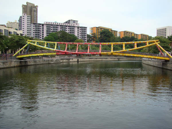 Alkaff Bridge at Singapore River