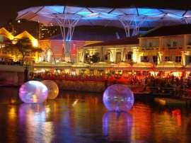 Clark Quay Singapore River Festival