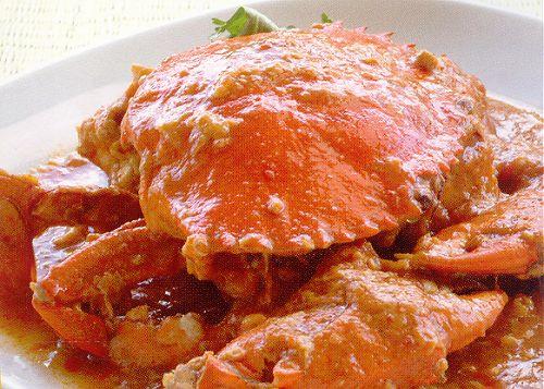 Chilli Crab de Cingapura