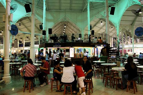 Hawker Centre em Cingapura