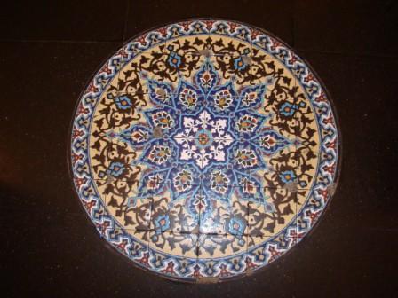 Azulejos em estilo arabe