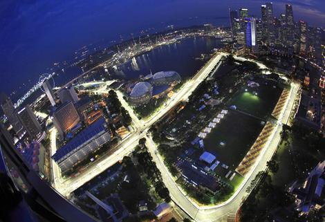 GP de Singapura de F1, Marina Bay