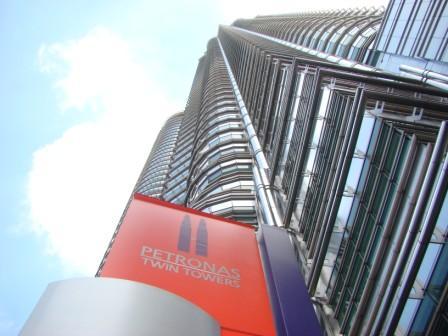 Na base da Petronas