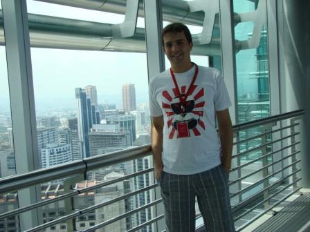 Oscar nas Torres Gemeas de Kuala Lumpur