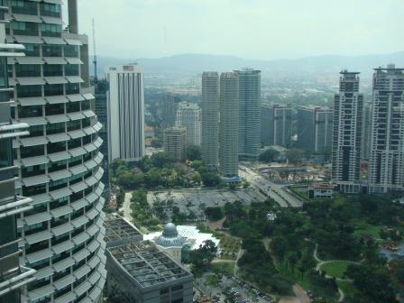 Vista de Kuala Lumpur