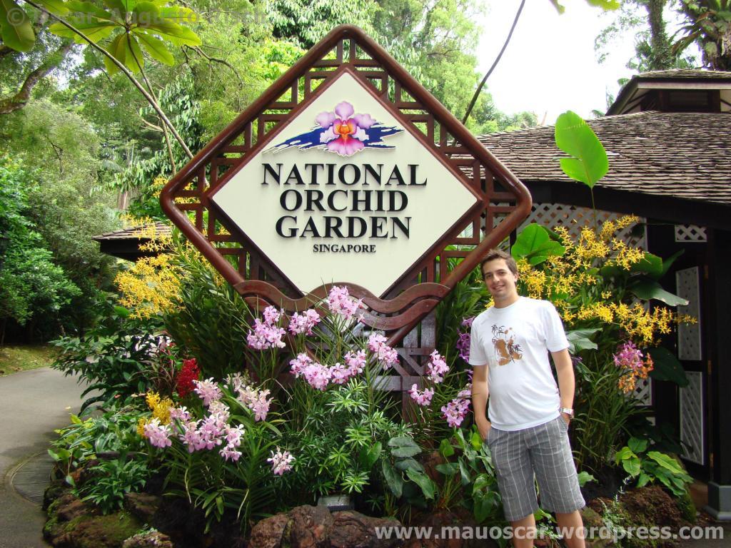 Jardim Botanico Cingapura Entrada