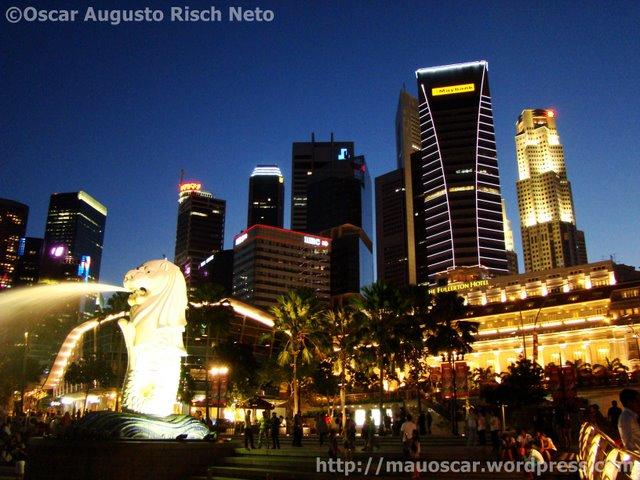 Vista de Cingapura