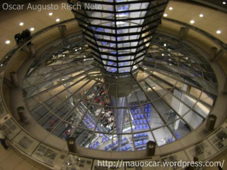Cupula Reichstag - Vista do Planario