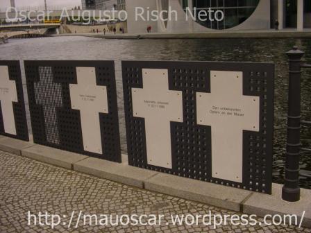 Muro de Berlin - Cruzes