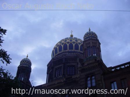 Neue Synagoge - Noite dos Cristais