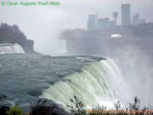 Niagara Falls vista do lado americano