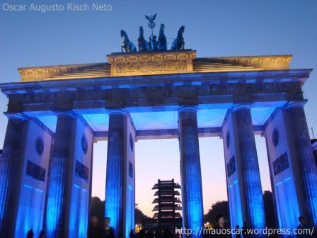 Portao de Brandenburgo - Azul