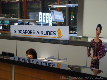 Singapore Airlines Balcao