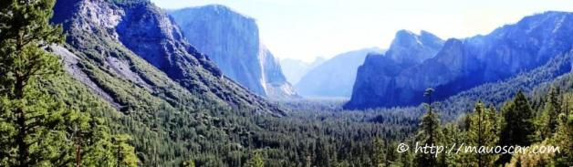 Panoramica Yosemite Valley