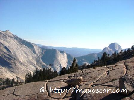 Paisagem Olmsted Point Yosemite