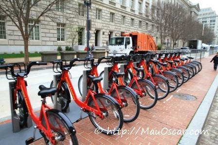 Bicicletas Públicas em Washington