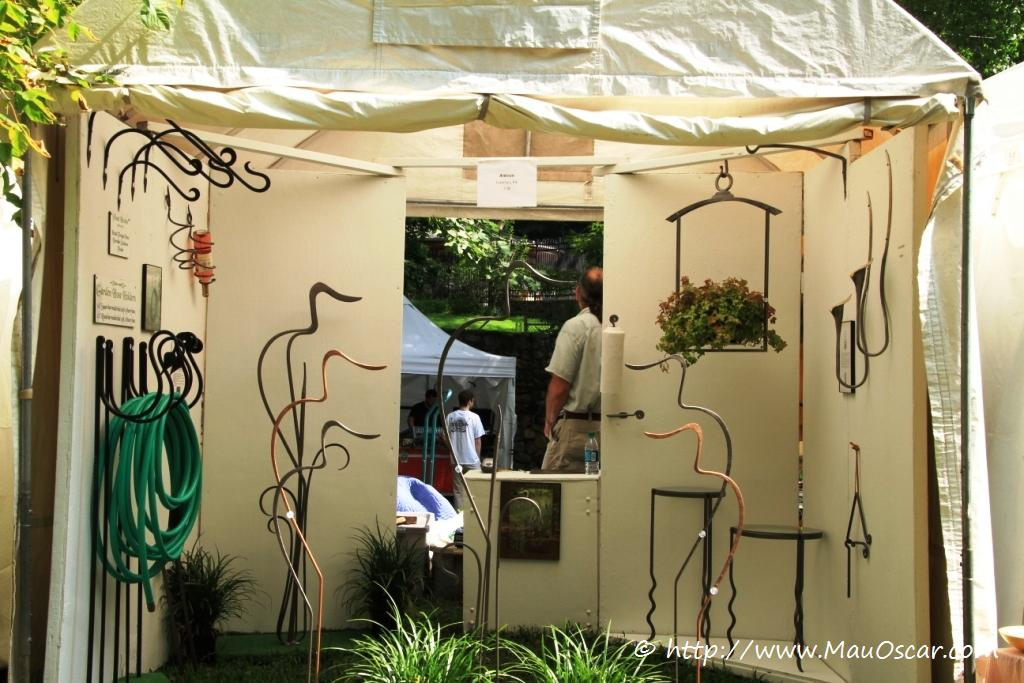 enfeite jardim bicicleta:Brandywine Festival of Arts : O melhor do artesanato dos EUA
