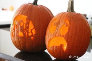 Nossas Lanternas de Halloween