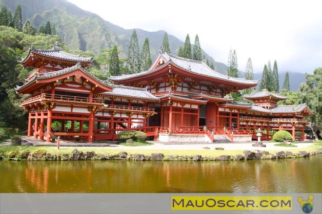 Templo Budista no Havaí - Byodo Temple
