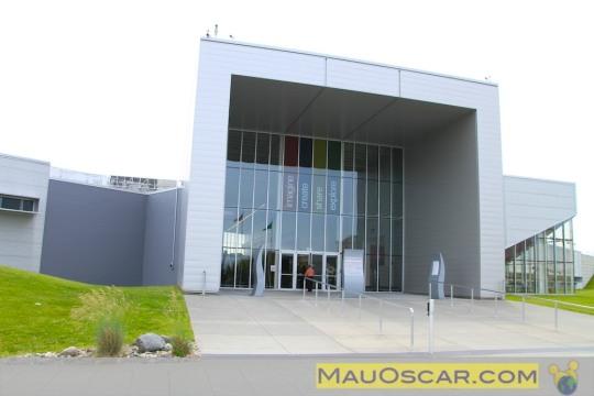 Visitando a maior fábrica de aviões do mundo Entrada-do-future-of-flight-aviation-center-boeing-tour