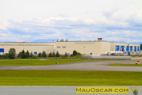 Visitando a maior fábrica de aviões do mundo Fc3a1brica-da-boeing-em-everett