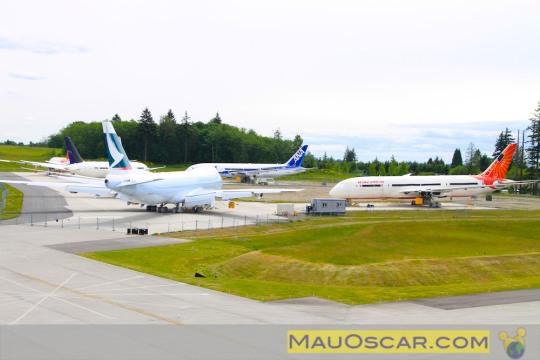 Visitando a maior fábrica de aviões do mundo Visita-fc3a1brica-da-boeing-14