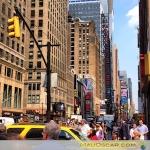 Nova York 10 Sétima Avenina perto da Times Square
