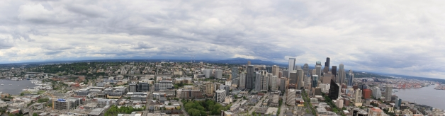 Vista Panorâmica do Sul de Space Needle