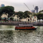 Boat Quay - Cruzeiro pelo Singapore River