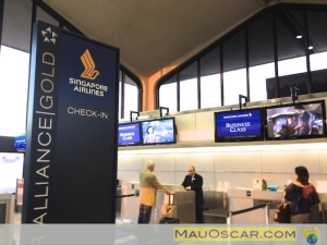 Check In Singapore Airlines  em Newark