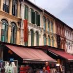 Chinatown  - Arquitetura Peranakam