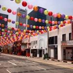 Chinatown - Lanterninhas Chinesas