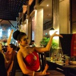 Dança Tailandesa no Jim Thompson Restaurant