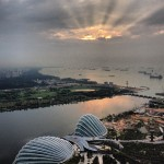 Marina Bay Sands - Nascer do Sol no 57th