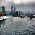 Marina Bay Sands - Piscina mais alta do mundo em Cingapura