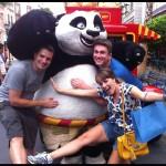 Universal Studios Cingapura - Kung Fu Panda