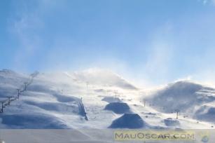 Pista de Esqui na Nova Zelândia